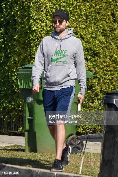 Robert Pattinson is seen on January 12 2018 in Los Angeles California