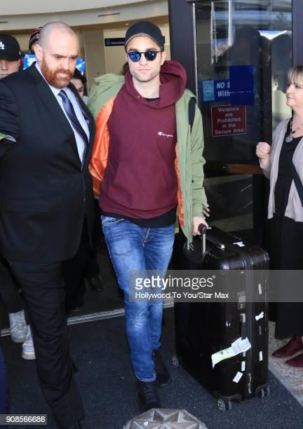 Robert Pattinson is seen on January 21 2018 in Salt Lake City Utah