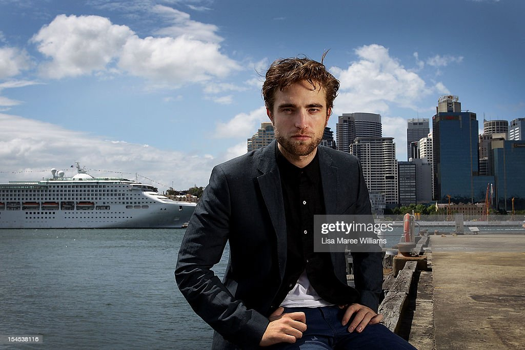 Robert Pattinson poses during a photo call to promote 'Breaking Dawn - Part 2' on October 22, 2012 in Sydney, Australia.