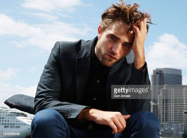 Robert Pattinson poses during a photo call to promote Breaking Dawn Part 2 on October 22 2012 in Sydney Australia