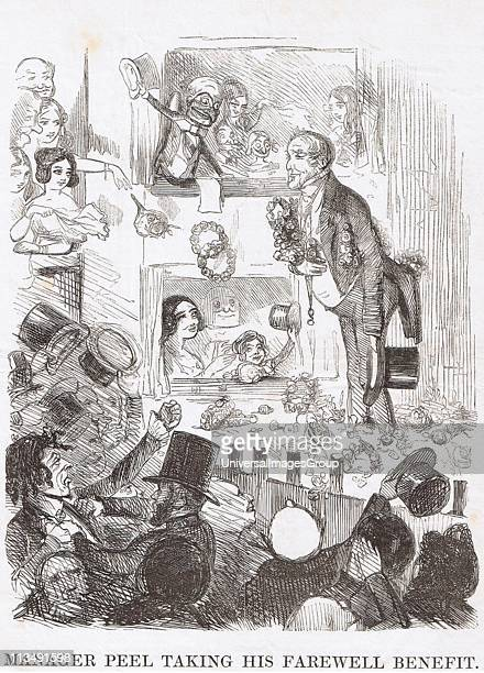 Robert Peel Prime Minister taking his final curtain call His Repeal of Corn Laws passed on 25 June but same night was defeated on his Irish bill...