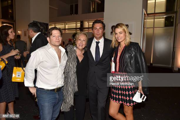 Robert Peter Miller Iran Issa Khan Fabian Basabe and Isabelle Bscher attend the Unveiling of White Square by Richard Meier Partners at Citigroup...