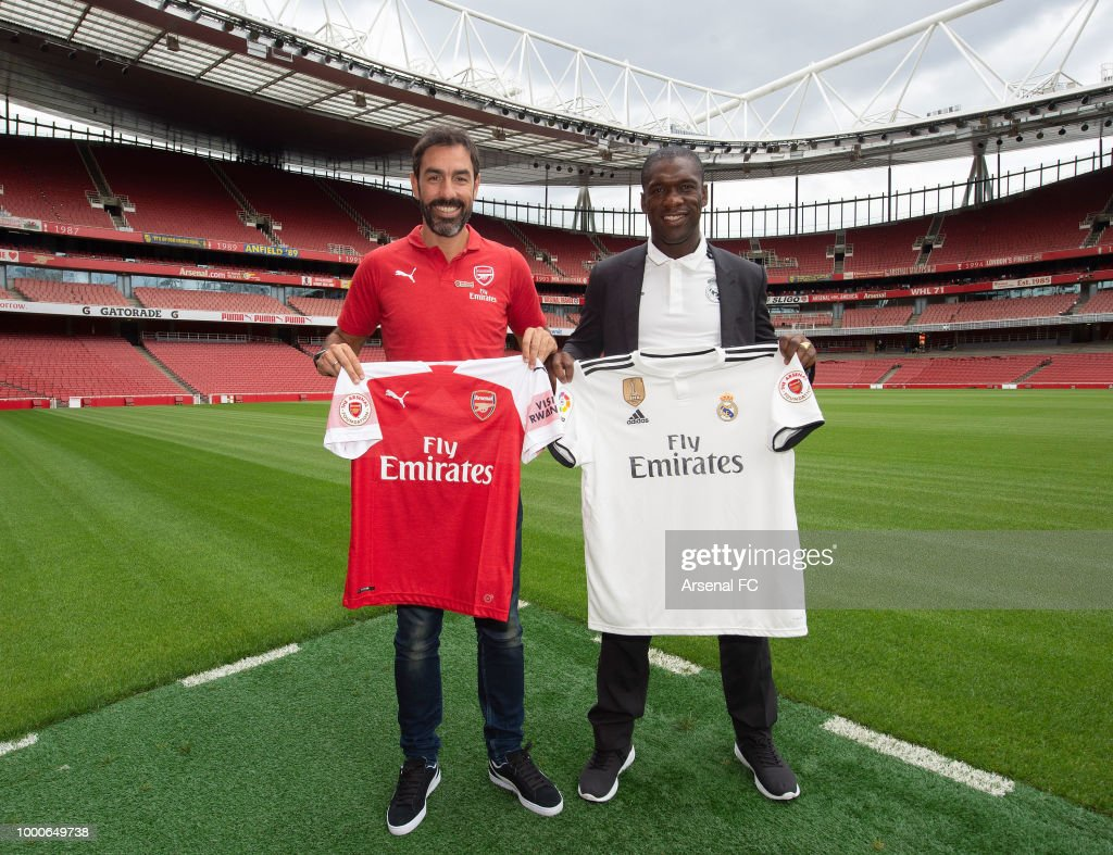 Arsenal Legends v Real Madrid Legends: Arsenal Foundation Charity Match Annoucement