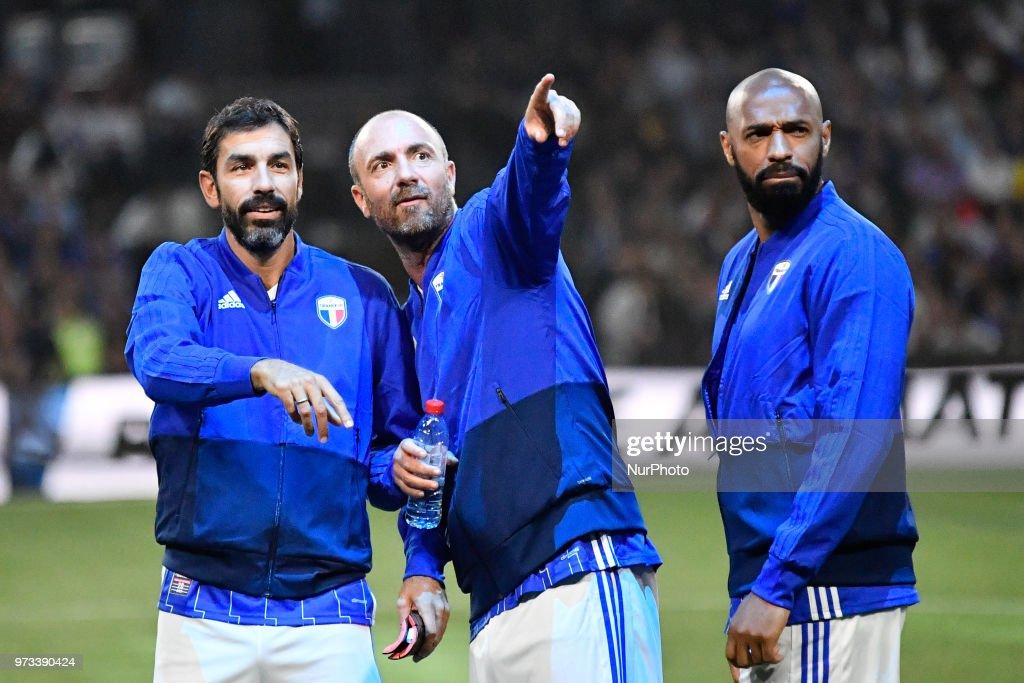 France 98 v Fifa 98 - Legends Game : News Photo