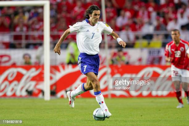 Robert PIRES of France during the European Championship Pool B match between Switzerland and France at Estadio Cidade de Coimbra, Coimbra, in...