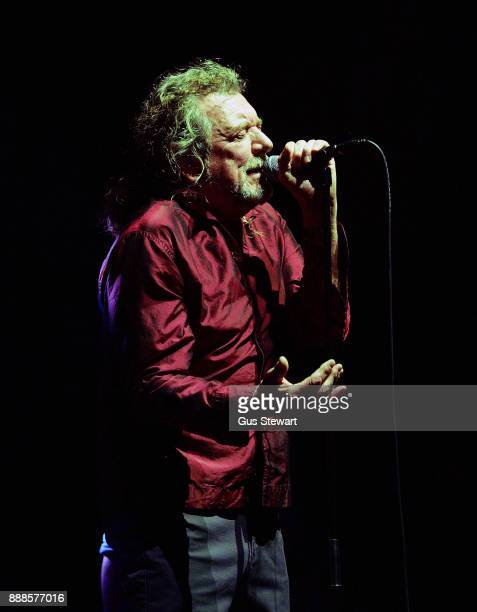 Robert Plant And The Sensational Space Shifters perform on stage at the Royal Albert Hall on December 8 2017 in London England