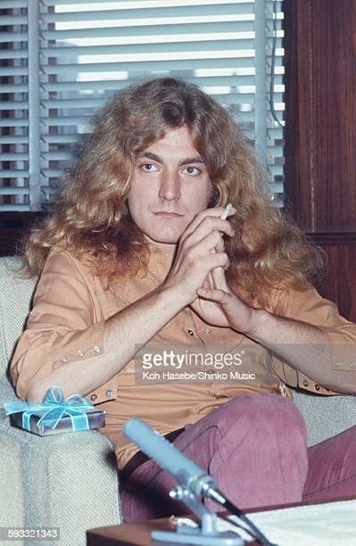 Robert Plant at the hotel Tokyo September 1971