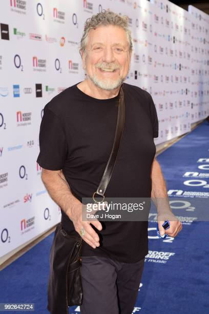 Robert Plant attends the Nordoff Robbins' O2 Silver Clef Awards at Grosvenor House on July 6 2018 in London England