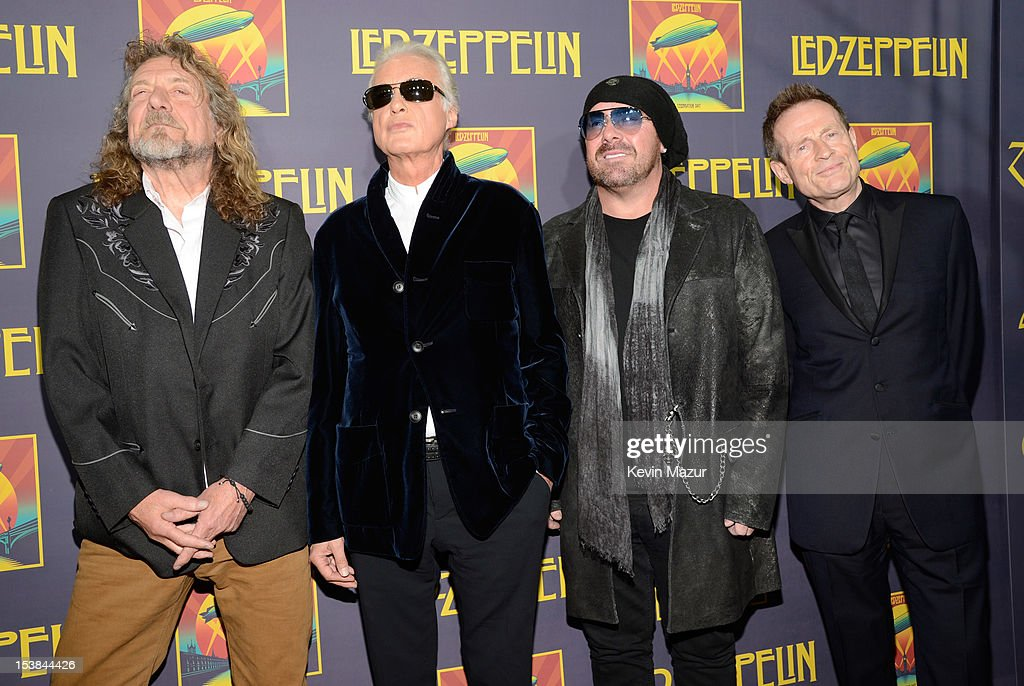 The New York City Premiere For Led Zeppelin Celebration Day : News Photo