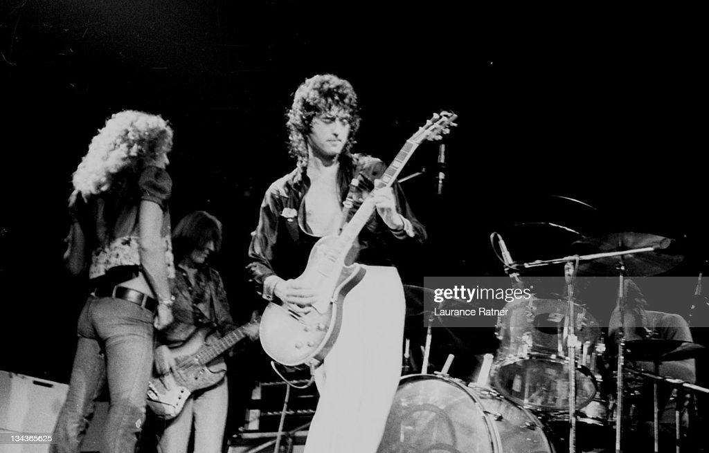 Led Zeppelin in Concert at Milwaukee Arena - 7-10-1973