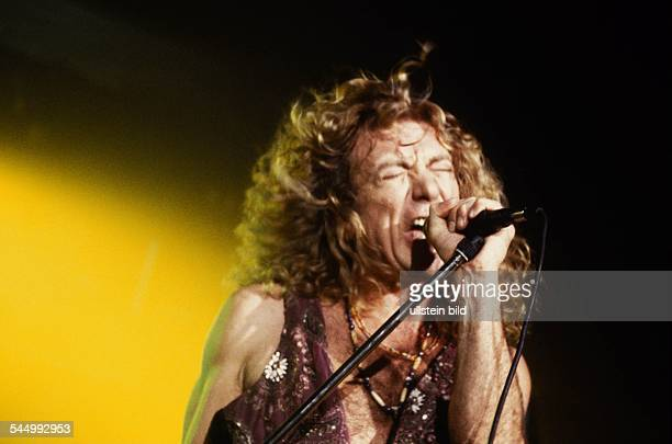 Robert Plant Musician Singer Rock music UK performing 1993