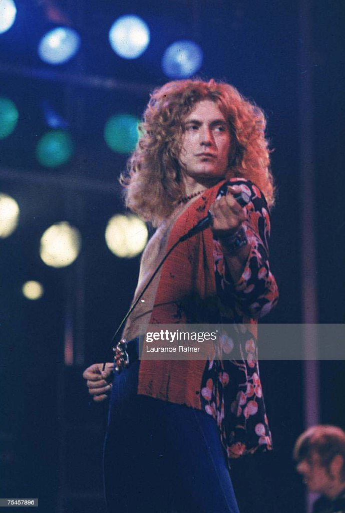 Led Zeppelin in Concert at Market Square Arena - 1-25-1975 : News Photo