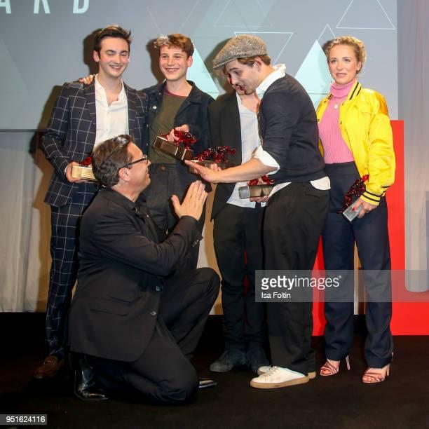 Robert Poelzer chief editor Bunte magazine GermanBritish actor Jesaja Michalski German actor Tom Gramenz German actor Jonas Dassler German actor...