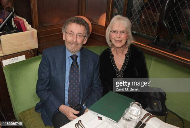 Robert Powell and Babs Powell attend One Night Only at The Ivy in aid of Acting For Others on December 1 2019 in London United Kingdom