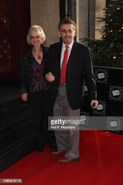 Robert Powell and Babs Powell attend The TRIC Awards 2018 at Grosvenor House on December 11 2018 in London England