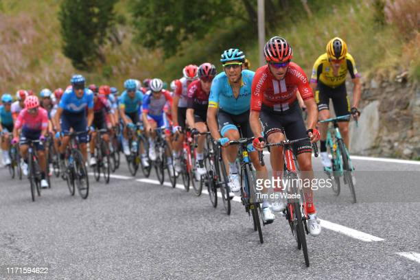 Robert Power of Australia and Team Sunweb / Omar Fraile Matarranza of Spain and Astana Pro Team / during the 74th Tour of Spain 2019, Stage 9 a...