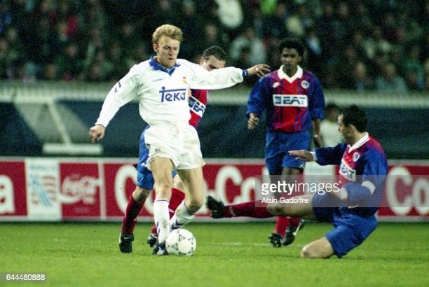 Robert PROSINECKI - - Paris Saint Germain / Real Madrid - 1/4 Finale retour Coupe des Vainqueurs de Coupe, Photo : Alain Gadoffre / Icon Sport
