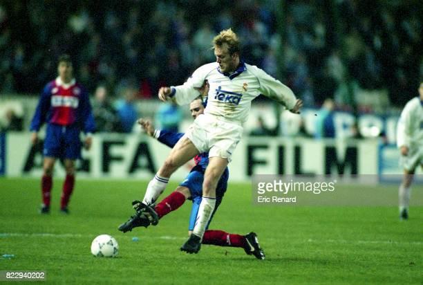 Robert PROSINECKI - - Paris Saint Germain / Real Madrid - 1/4 Finale retour Coupe des Vainqueurs de Coupe,