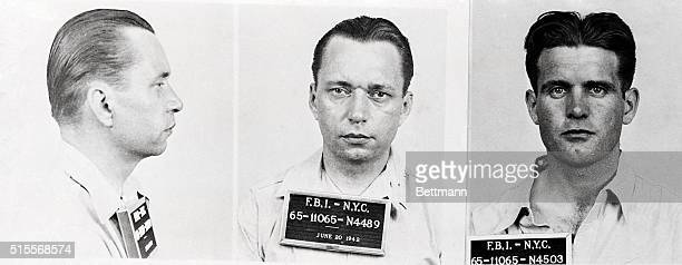 Robert Quirin and Edward John Kerling two of the eight Axis saboteurs arrested by the FBI according to an announcement tonight by J Edgar Hoover...