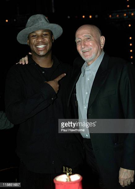 Robert Randolph and Dominic Chianese during Change For Kids 6th Annual Talent Extravaganza at Studio 54 in New York City New York United States