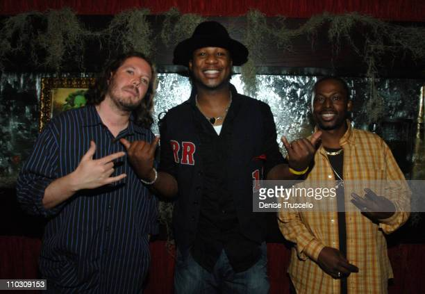 Robert Randolph and Friends during Topher Grace and Robert Randolph at LIGHT Nightclub at The Bellagio Hotel and Casino Resort for The Official...