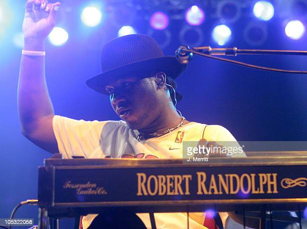 Robert Randolph and the Family Band during Bonnaroo 2004 Day 2 Robert Randolph The Family Band at Centeroo Performance Fields That Tent in Manchester...