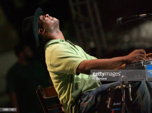 Robert Randolph during Crossroads Guitar Festival Day Two All Star Blues Jam Hosted by Eric Clapton at Fair Park in Dallas Texas United States