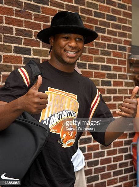 Robert Randolph during Musician Robert Randolph arrives at The David Letterman Show at The Ed Sullivan Theater in New York City New York United States