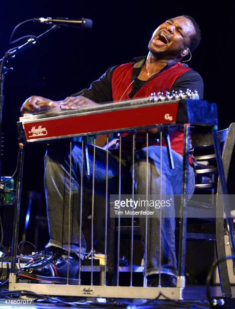Robert Randolph of Robert Randolph and the Family Band performs in support of the band's Lickety Split release at the Crest Theater on March 2 2014...