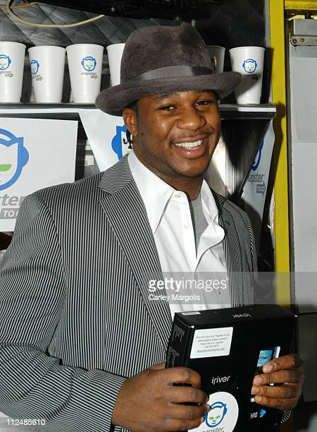 "Robert Randolph of The Family Band during Napster Launches ""Napster To Go"" Cafe Tour with Free Music and MP3 Players at The Coffee Shop in New York..."