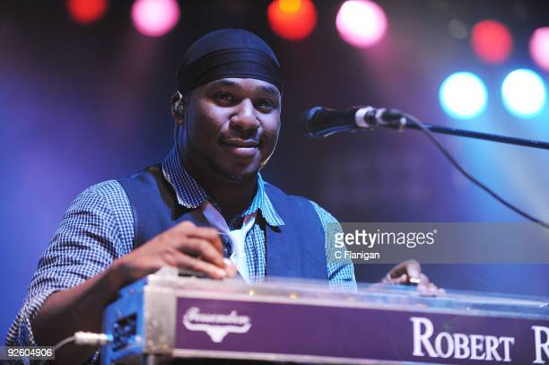 Robert Randolph performs during Day 3 of the 2009 Voodoo Experience at City Park on November 1 2009 in New Orleans Louisiana