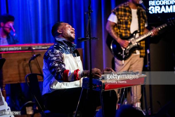 Robert Randolph performs during The Drop Robert Randolph at GRAMMY Museum on August 07 2019 in Los Angeles California