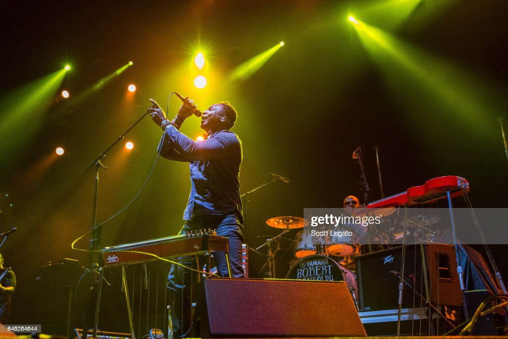 Robert Randolph & the Family Band perform the very first show at the new Little Caesars Arena on September 12, 2017 in Detroit, Michigan.