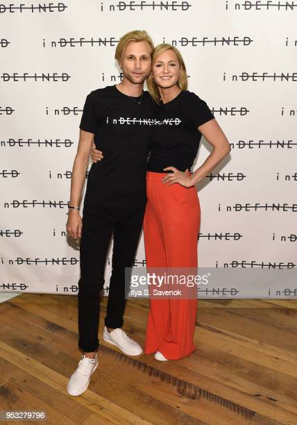 Robert Reader and Amanda Cole attend inDEFINED NYC PopUp Shop at The Phluid Project on April 30 2018 in New York City