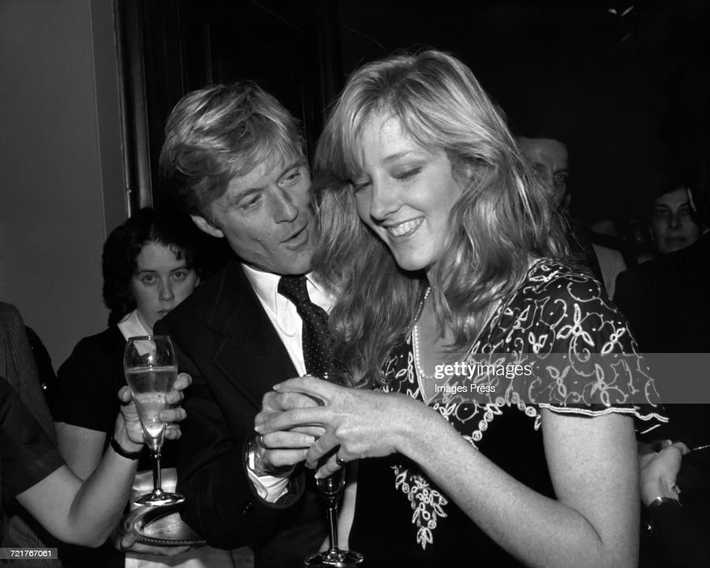Robert Redford and daughter Shauna... : News Photo