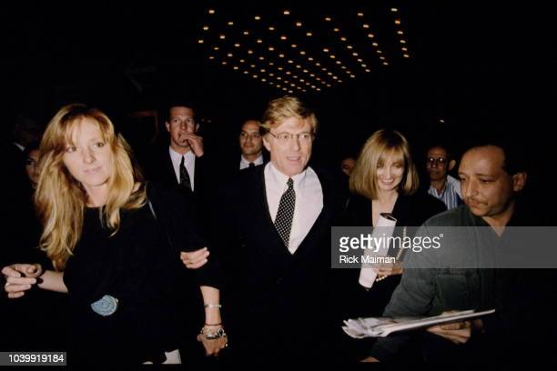 Robert Redford and his daughters Shauna Redford and Amy Redford