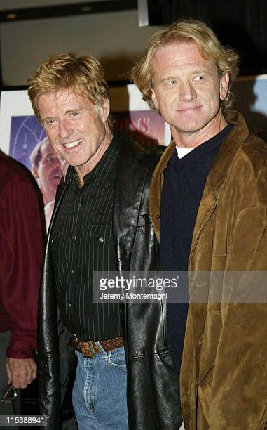 Robert Redford and James Redford during AFI Film Festival Screening of James Redford's Directorial Debut Spin at Arclight Cinema in Holllywood...