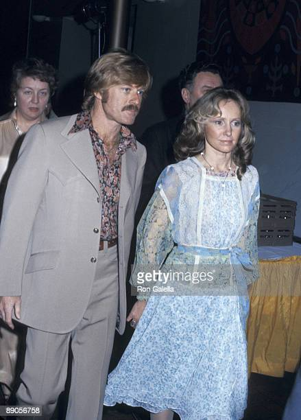 Robert Redford and Lola Redford