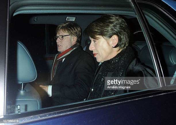 Robert Redford and Lola Redford sighting on December 7 2010 in New York City