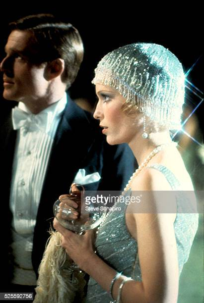 Robert Redford and Mia Farrow in The Great Gatsby