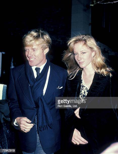 Robert Redford and Shauna Redford