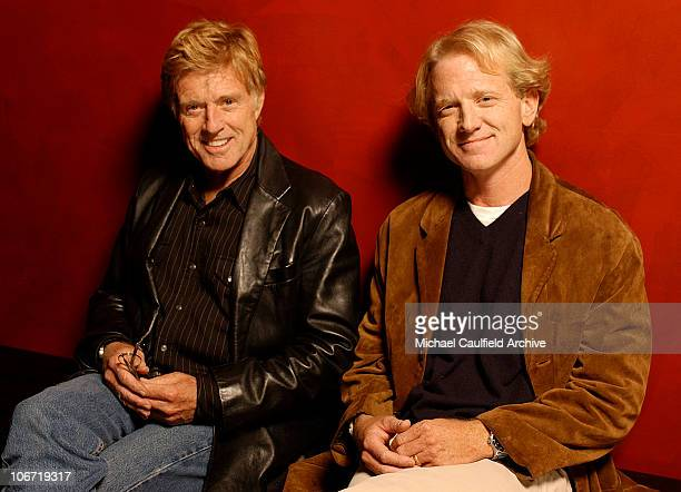 """Robert Redford and son James Redford during AFI Film Festival screening of James Redford's Directorial Debut """"SPIN"""" - Portraits at ArcLight Cinemas..."""