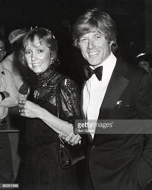 Robert Redford and wife Lola Redford