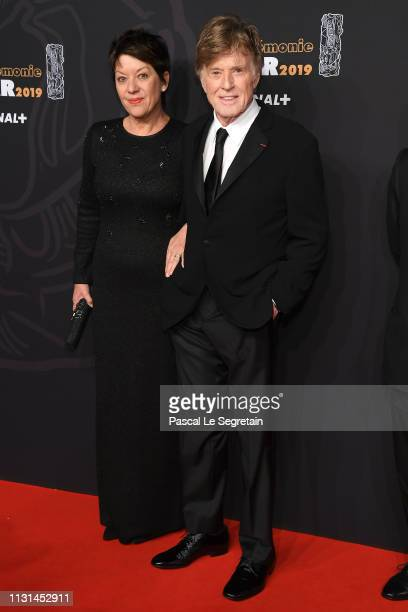 Robert Redford and wife Sibylle Szaggars attend Cesar Film Awards 2019 at Salle Pleyel on February 22 2019 in Paris France