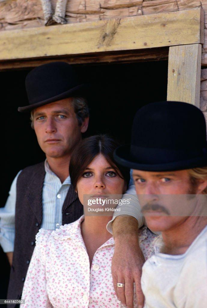 Cast of Butch Cassidy and the Sundance Kid : News Photo