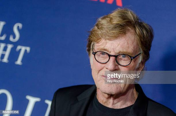 Robert Redford attends Netflix hosts the New York premiere of Our Souls At Night at The Museum of Modern Art on September 27 2017 in New York City