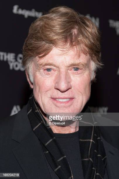 "Robert Redford attends ""The Company You Keep"" New York Premiere at The Museum of Modern Art on April 1, 2013 in New York City."