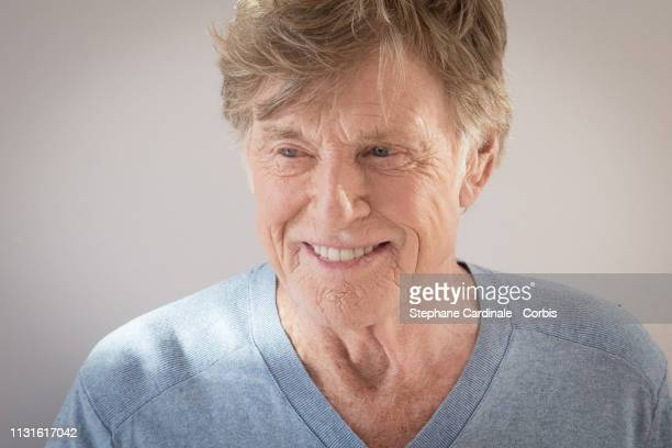 Robert Redford attends the Master Class With Robert Redford at la cinematheque on February 23 2019 in Paris France