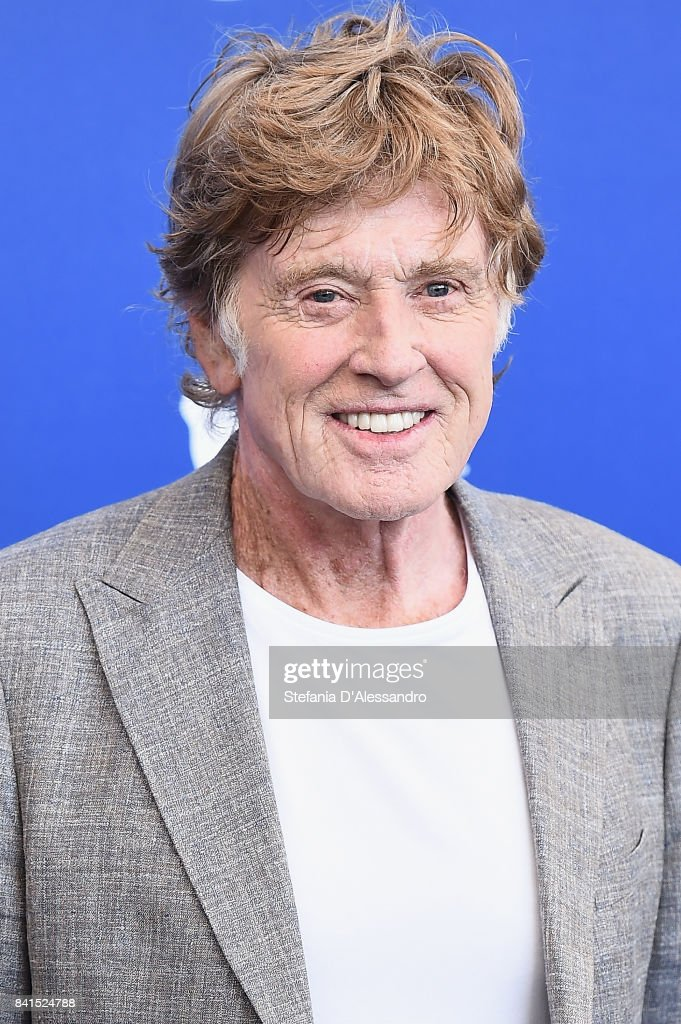Robert Redford attends the 'Our Souls At Night' photocall during the 74th Venice Film Festival on September 1, 2017 in Venice, Italy.