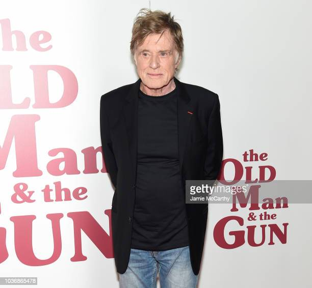 Chief Content Officer of Spotify Dawn Ostroff and producer Jeremy Steckler attend the premiere of 'The old man and the gun' in New York City on...